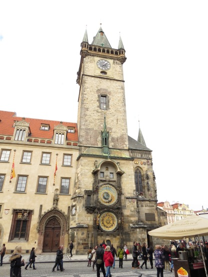 The Old Town City Hall tower.