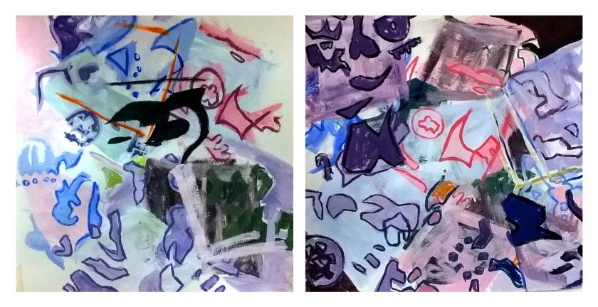 tesseract paint