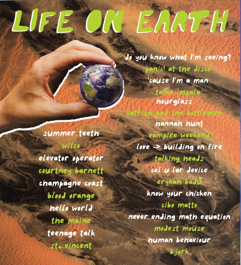life on earth flat